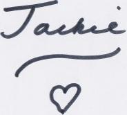 Jackie Stallard signature - Web design Batemans Bay, Narooma, Tilba, Cobargo, Bega, Merimbula